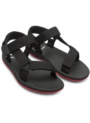 Camper Spor Sandalet Siyah